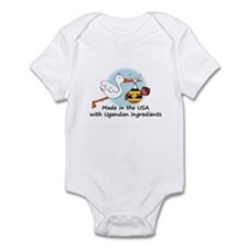 Stork Baby Uganda USA Infant Bodysuit