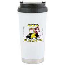 Oil Patch Pump Jack Travel Mug,Oil