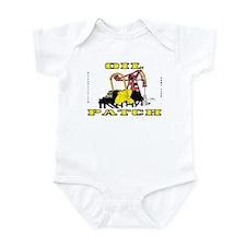 Oil Patch Pump Jack Infant Bodysuit