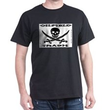 Oil Field Trash,Skull,Bones T-Shirt