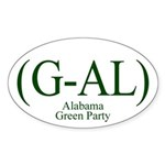 (G-AL) Alabama Green Party bumper sticker