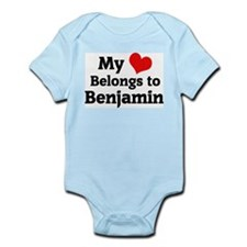 My Heart: Benjamin Infant Creeper
