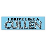 drive like a cullen remix Car Sticker