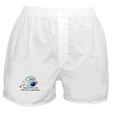 Stork Baby New Zealand USA Boxer Shorts