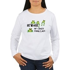 Beware of Crazy Frog Lady T-Shirt