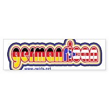 GermanRican Bumper Sticker