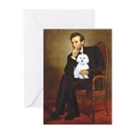 Lincoln / Maltgese (B) Greeting Cards (Pk of 10)