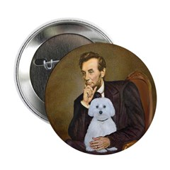 "Lincoln / Maltgese (B) 2.25"" Button"