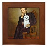 Lincoln / Maltgese (B) Framed Tile