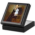 Lincoln / Maltgese (B) Keepsake Box