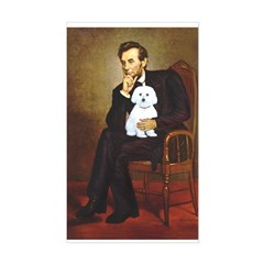 Lincoln / Maltgese (B) Sticker (Rectangle)