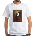Lincoln / Maltgese (B) White T-Shirt