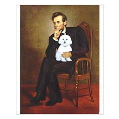Lincoln / Maltgese (B) Small Poster