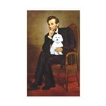 Lincoln / Maltgese (B) Sticker (Rectangle 10 pk)