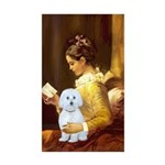 Reading / Maltese Sticker (Rectangle 10 pk)