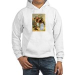 Vase / Maltese (B) Hooded Sweatshirt