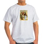 Vase / Maltese (B) Light T-Shirt