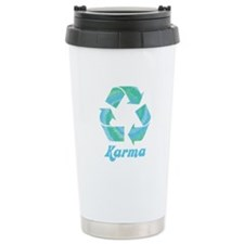 Recycle Karma Ceramic Travel Mug