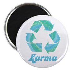"""Recycle Karma 2.25"""" Magnet (10 pack)"""