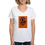 Symbionese Liberation Army Women's V-Neck T-Shirt