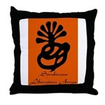 Symbionese Liberation Army Throw Pillow