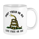 Don't Tread On Me 3 Small Mugs