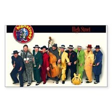 High Street Band Decal