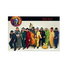High Street Band Rectangle Magnet (100 pack)