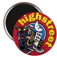 "High Street Band 2.25"" Magnet (10 pack)"