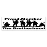 The Brotherhood Bumper Stickers