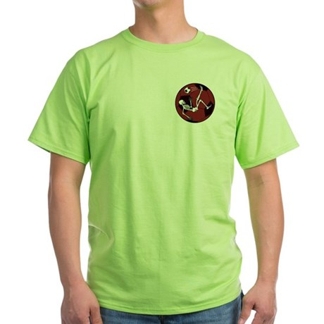 Soccer Skeleton Green T-Shirt