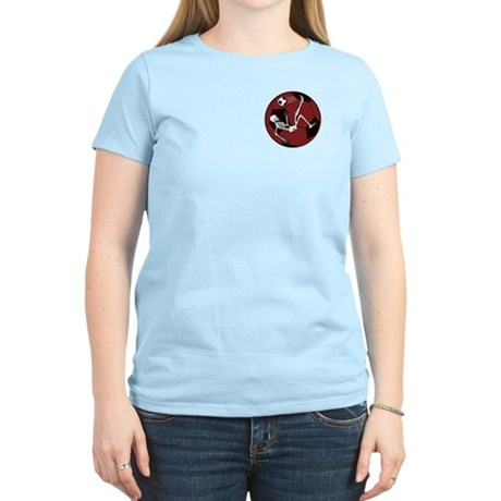 Soccer Skeleton Women's Light T-Shirt