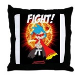 FIGHT! Throw Pillow