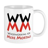 Woodworking for Mere Mortals Small Mug