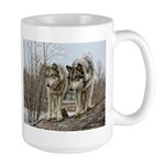 Pair of Wolves Mug