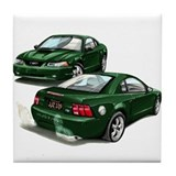 Bullitt Stang Tile Coaster