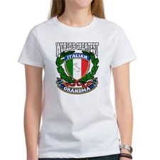 World's Greatest Italian Grandma Tee