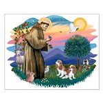 St Francis #2/ Cavalier (2 bl) Small Poster