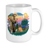 St Francis #2/ Shar Pei (#3) Large Mug