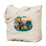 St Francis #2/ Shar Pei (#3) Tote Bag