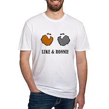 luke and ronnie dubliners t shirt