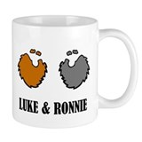 Luke and Ronnie Small Mug