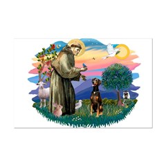 St Francis #2/ Doberman Posters