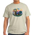 St Francis #2/ Doberman Light T-Shirt