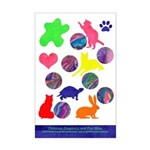 Children and Creativity Mini Poster Print