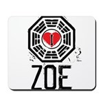 I Heart Zoe - LOST Mousepad