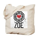 I Heart Zoe - LOST Tote Bag