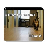 Alley Cat Allies LOLcats Mousepad- Stray Cat Strut