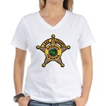 Lake County Sheriff Women's V-Neck T-Shirt