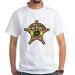 Lake County Sheriff White T-Shirt